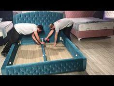 Bed Headboard Design, Bedroom Bed Design, Bedroom Furniture Design, Headboards For Beds, Sofa Furniture, Bed Designs With Storage, Wooden Sofa Set Designs, Diy Bedframe With Storage, How To Make Sofa