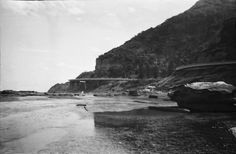 Taken from on the rocks at Coalcliff looking south towards the Sea Cliff Bridge. Sea Cliff Bridge, The Rock, Rocks, River, Outdoor, Outdoors, Rivers, Rock, Outdoor Games