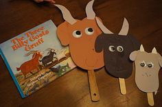 Three Billy Goats Gruff, link to a site that targets specific letters of the alphabet with many tasks.