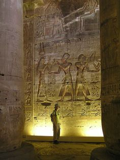 Temple of Abydos, Egypt