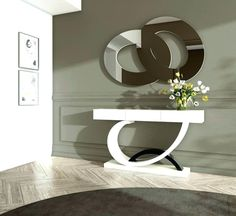 Ways to Decorate Modern Console Table — Fanpageanalytics Home Design Sofa Table Decor, Console Table Living Room, Modern Console Tables, Contemporary Front Doors, Contemporary Sofa, Luxury Interior, Luxury Furniture, Interior Design, Furniture Buyers