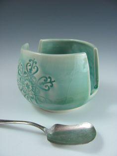 Handmade Porcelain Ceramic Sponge Holder in by ShadyGrovePottery, $25.00