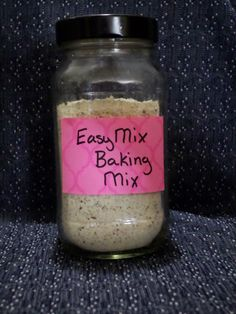 Easy Mix Baking Mix for Sweet or Savory THM S Breads ~ Gluten Free, Almond Free with Grain Free & Sweetener Free Options