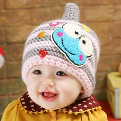 Accessories Motivated Girls Boys Knitted Hat Baby Ears Protector Fleece Hats Winter Warm Kid Bonnet Cap Autumn Children Beanie Hat Infant Knitted Cap Boys' Baby Clothing