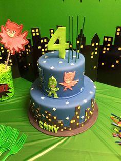 PJ Masks Cake for a Gekko fan!