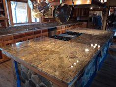 Beautiful granite counter tops installed by GraniteWarehouseTN! Like us on facebook! https://www.facebook.com/GraniteWarehouseTN