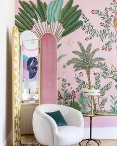 "7,124 Likes, 88 Comments - de Gournay (@degournay) on Instagram: ""#pinkisthenewblack Eye-catching interior by Virginia Gash @casadecoroficial shot by @amadortoril…"""
