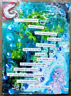"""Semaine 5 sujet: """"Un poeme"""" par http://hellofannyscrap.com/"""