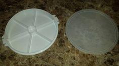 Pie storage container tupperware by TupperwareSource on Etsy