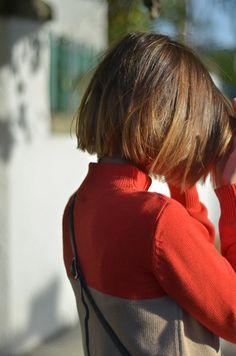 tendance coupe au carré courte avec balayage, réaliser un tie and dye cheveux courts