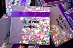 Beautiful Confetti - something new and Different