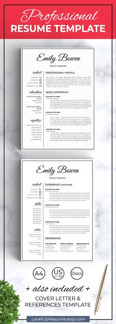 2 page resume template Job resume Word template resume with icons Student resume Classic resume Elegant 1 page resume template word EB Job Resume, Resume Tips, Resume Examples, Cv Tips, Resume Ideas, College Resume Template, Modern Resume Template, Creative Resume Templates, Resume Words