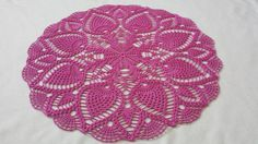 New 26 Handmade crochet doily 100% cotton lace doily