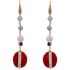 Isabel Marant Scoubidou earrings (515 CNY) ❤ liked on Polyvore featuring jewelry, earrings, earrings jewellery, boho jewelry, boho style jewelry, boho jewellery and boho earrings