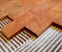End Grain Block Flooring at Cartolina