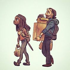 The Walking Dead / Richonne