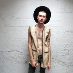 Hippy Daze... Vintage Vest by October18th on Etsy, $20.00
