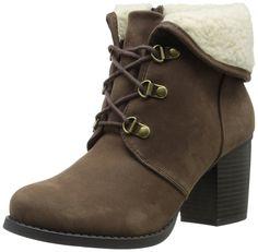 Reneeze ABBY-03 Women's Winter Combat Boots- Brown ** Learn more ...