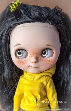 Очаровательная озорница Дашка,куколка Блайз.Blythe Daska. / Авторские куклы (ООАК) / Шопик. Продать купить куклу / Бэйбики. Куклы фото. Одежда для кукол