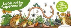 Join Superworm on his forest adventure this spring! Take part in one of 20 Forestry Commission self-led Superworm activity trails across England.