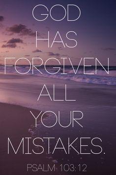 Psalm 103:12 beautiful reminder
