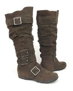 bryankonietzko: ATTENTION COSPLAYERS: I based Korra's new Book 4 boots on existing ones. They're vegan, which is cool. Maybe I'll rock a pair too. Here's a link where you can order them: http://www.amazon.com/Womens-Suede-Winter-Buckle-5-5-10/dp/B006CB2XXI