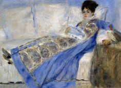Camille Doncieux lisant : Auguste Renoir