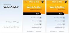 Wahl-O-mat App zur Bundestagswahl - http://www.mrmad.de/wahl-o-mat-app-zur-bundestagswahl-2808 Ab morgen 11.30 Uhr schaltet die Bundeszentrale für politische Bildung den Wahl-O-mat zur Bundestagswahl 2013 frei!