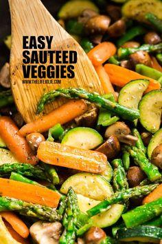 Easy Sautéed Veggies