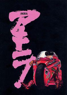 Katsuhiro Otomo's Akira Akira Poster, Space Ghost, Arte Cyberpunk, Manga Anime, Akira Anime, Katsuhiro Otomo, Anime Screenshots, Manga Covers, Anime Artwork