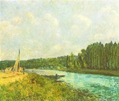 The Banks of the Oise, 1878 - Alfred Sisley