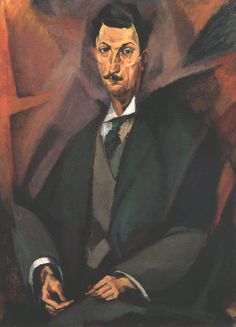 Perfect Tihanyi Lajos Portrait of Virgil Ciaclan