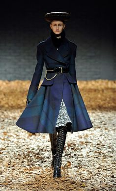 The Style and Travel Journals: LFW: McQ Alexander McQueen Fall 2012 Collection