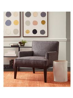 **similar to our living room chairs** Mitchell Gold Cary's...