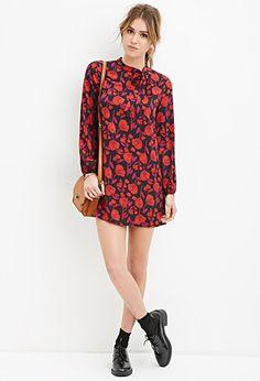 Floral Shift Dress | Forever 21 - 2000163460