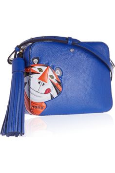 bc3ae9939e ANYA HINDMARCH Frosties textured-leather shoulder bag €850.00 https://www.