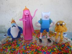 HORA DE AVENTURA BISCUIT Cartoon Network, Bolo Fake, Clay Art, Adventure Time, Princess Peach, Biscuit, Polymer Clay, Pasta, Cakes