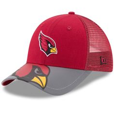 sports shoes 00d75 2a52a Arizona Cardinals New Era Toddler Mega Flect 9FORTY Snapback Adjustable Hat  - Cardinal Gray,