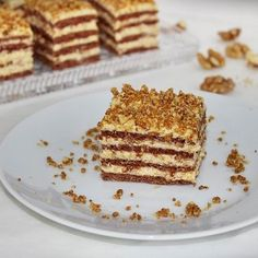 Karamellás szelet grillázzsal Recept képpel - Mindmegette.hu - Receptek Cake Bars, Holiday Dinner, Winter Holidays, Tiramisu, Waffles, French Toast, Menu, Breakfast, Ethnic Recipes