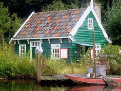 I love cottages and dream of living in one someday.   cottage at efteling, the netherlands