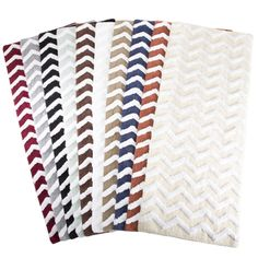 Shop for Windsor Home 100% Cotton Chevron Bathroom Mat - 24x60 inches. Free…