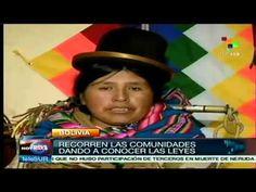 ▶ Mujeres inician campaña contra la violencia de genero en Bolivia - YouTube