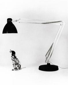 Moloch    Gaetano Pesce's oversized take on Jacobsen's Naska Loris /Luxo L1 ; photo by Aldo Ballo, 1972