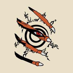 Awesome 'Naruto+Nine+tails' design on TeePublic!