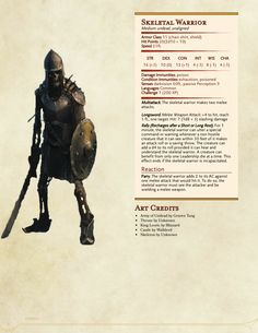 Homebrewing monsters DnD Homebrew (Search results for: undead) Dark Fantasy, Fantasy Map, Dark Souls, Dungeons And Dragons Game, Dungeons And Dragons Homebrew, Fantasy Creatures, Mythical Creatures, Skeleton Warrior, Skeleton King
