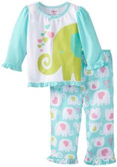 Little Me Baby-girls Infant Elephant 2 Piece Pajama, Green Multi, 18 Months Little Me,http://www.amazon.com/dp/B00B8NGWZA/ref=cm_sw_r_pi_dp_zWdatb1CE728FE8C