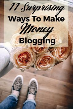 It seems lately the focus for making money as a blogger is from either affiliate links or selling what you know. While those are valid and AWESOME ways to make money blogging, there are many ways you can make money blogging. And these don't feel scammy or like you're selling your soul for the purpose …