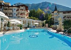 amazing 5***** Hotel in Austria: Das #Posthotel #Achenkirch in Tirol, mit Außenpool und herrlicher Landschaft