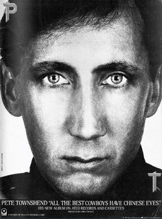 """Pete Townshend's """"All The Best Cowboys Have Chinese Eyes"""" ad"""
