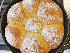 Recipe for Potato Pot Bread - a light, fluffy and delicious homemade bread.